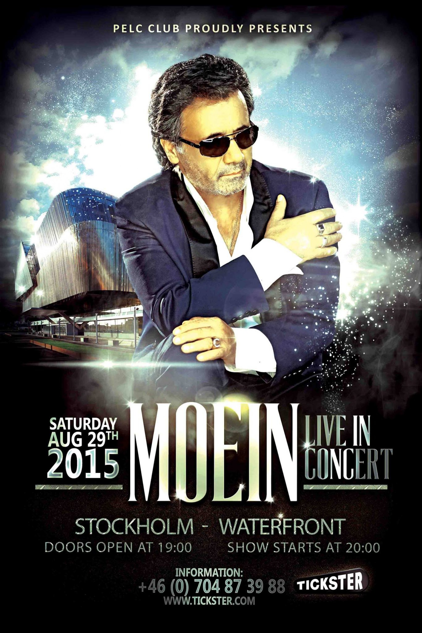 Moein Live in concert - Saturday Aug 29th